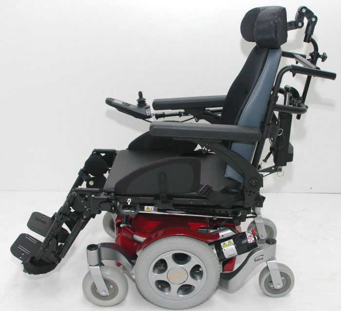 fauteuil roulant electrique 6 roues