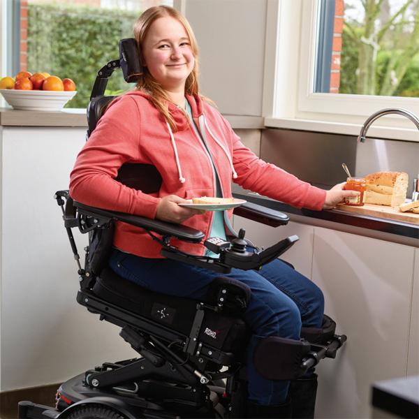 fauteuil roulant electrique hauteur variable